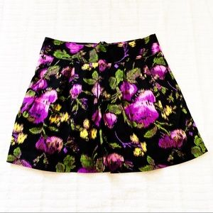 UO . Slience & noise purple floral skirt  size 10